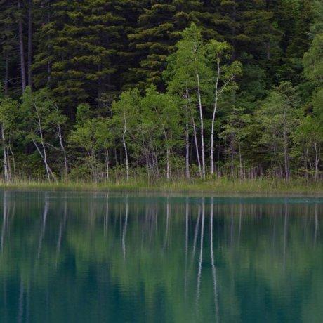Озеро Оннето, Национальный парк Акан