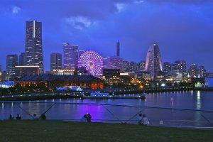 Lịch sử đầy thú vị của Yokohama cũng được diễn tả lại bằng tranghệ thuật.