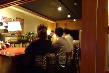 Stumbling Upon a Japanese Shot Bar
