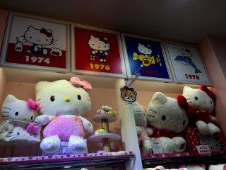 Hello Kitty появилась на свет в 1974 году и уже отпраздновала 41 год