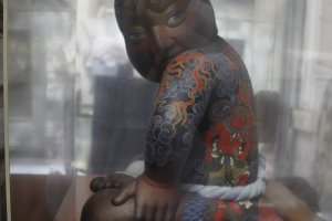 An interesting figurine within the museum.