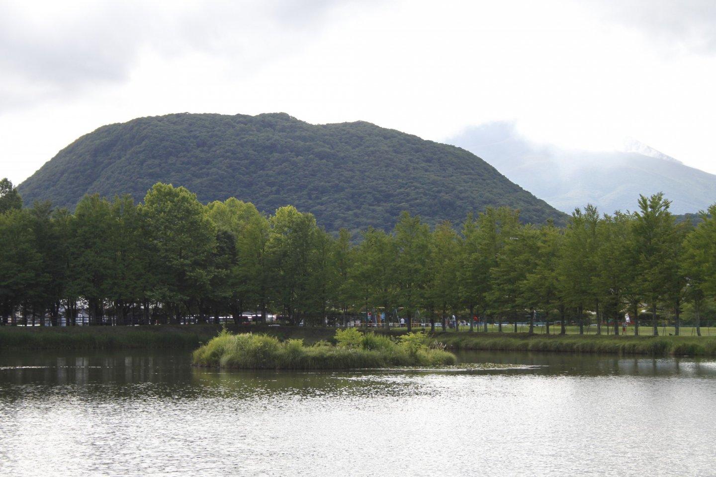 The lake in Yagasaki Park.