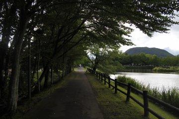 <p>The park area in Yagasaki.</p>