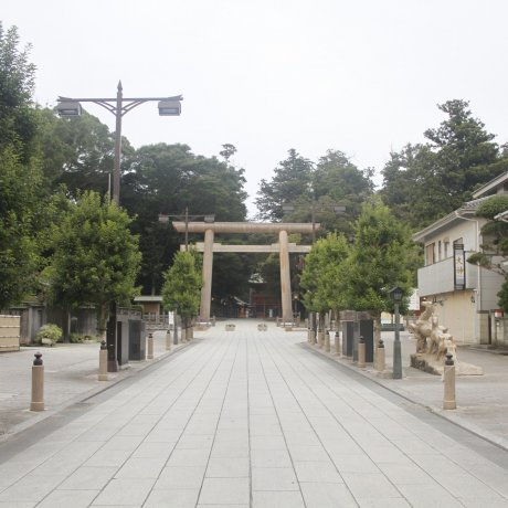 ศาลเจ้าคะชิมะในอิบะระกิ