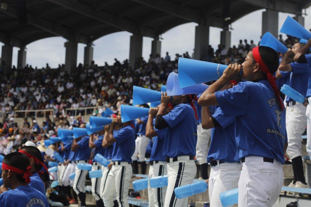 Visit a baseball game in Okinawa at the American Village baseball stadium.