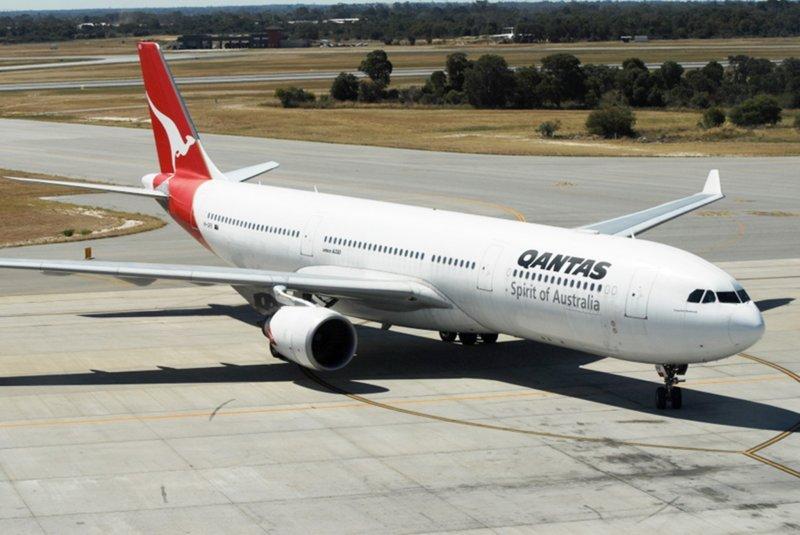 Qantas flies the Airbus 330 from Brisbane to Tokyo