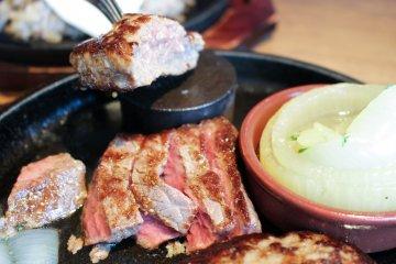<p>Beef Steak Akami</p>
