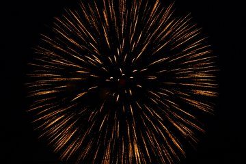 <p>Slow shutter of firework&nbsp;</p>
