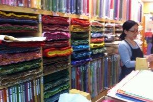 Rainbow of Washi Stock