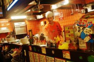 Les cuisiniers sont habitués à être photographiés