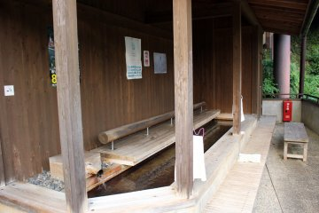 <p>Totsukawa-mura is known for its abundance of hot springs. This is Iori no Yu</p>