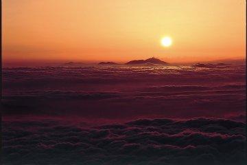 Рассвет на горе Норикура