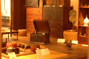 <p>Travel back in time with this exhibit of a typical house complete with old-time furnishings.</p>