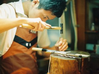 Aritsugu craftsmen can engrave names on items bought