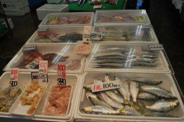 <p>Good deals on fish</p>