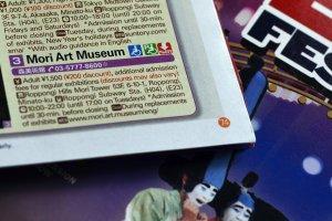 Di buku panduan wisata tersedia info lengkap tentang tempat-tempat atraksi untuk turis