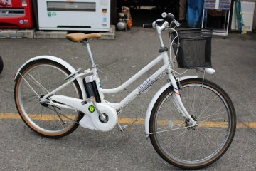 <p>Electrically assisted bike ¥1,500/day</p>