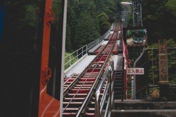 <p>Mountain slope lift</p>