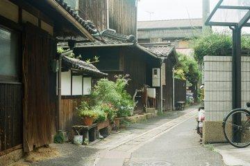 <p>나오시마 골목</p>