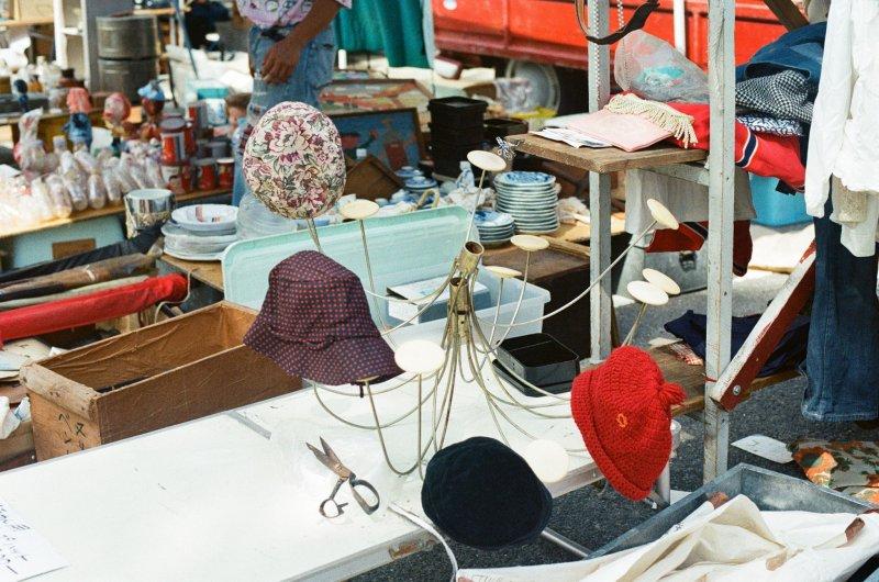 <p>모자와 샹들리에&nbsp;</p>