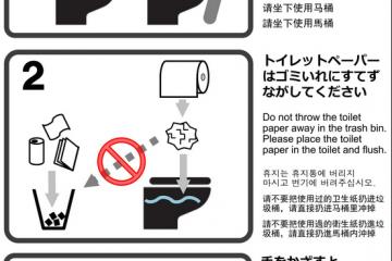 Kyoto Counters Bad Toilet Etiquette