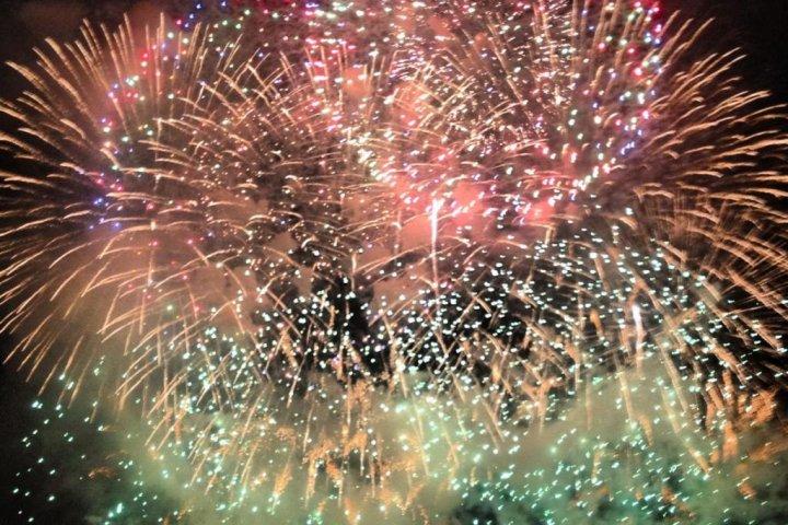 Kanagawa Shimbun Fireworks Festival