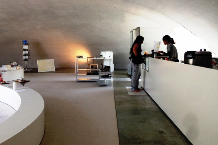Teshima Art Museum and Cafe