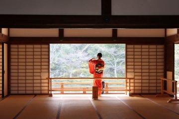 京都嵯峨野「天龍寺」