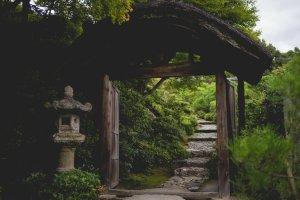 Pintu gerbang menuju taman