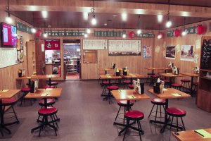 Yatai tables for larger groups