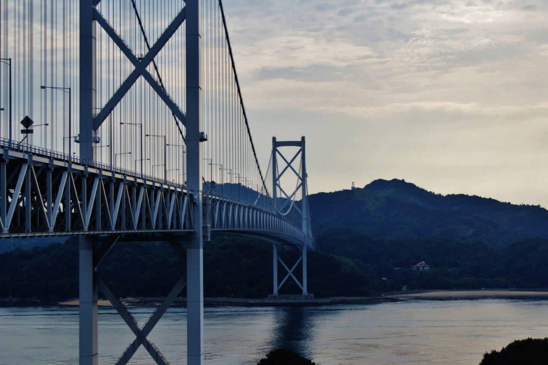 Le pont d'Innoshima, reliant Mukaishima à Innoshima