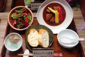 Beef Tongue Lunch set