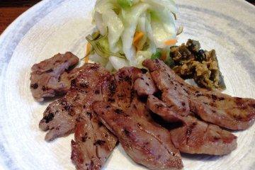 <p>Grilled beef at Morinoya</p>