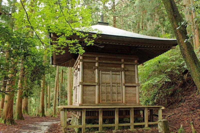 <p>The Kakure-to Hideout Pagoda</p>