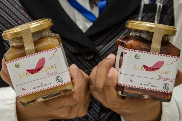 <p>Jam originally made by &quot;Sakura&quot; Country for bread or biscuits</p>