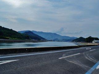Une vue depuis la route