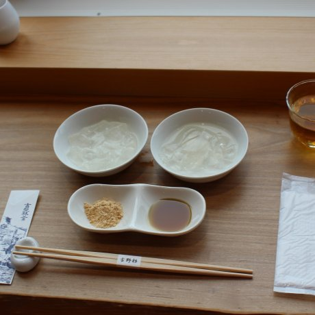 Kudzu Sweets at Nakai Shunpudo