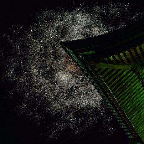 焼山寺の夏祭り