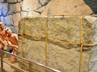 這就是他們如何搬運石頭建造城牆