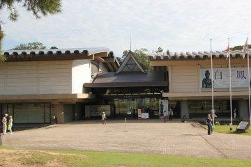 <p>Вход в новое здание Национального музея</p>