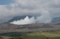 Об извержении вулкана Асо в Кумамото