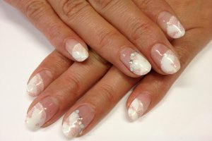 One of the Nail Arts design Mai offers.