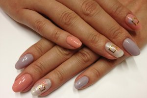 Another Nail Arts design.