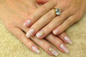 Mermaid Shellac Manicure