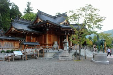 <p>Niyu Kawakami Shrine Kamisha (upper shrine - a lower and middle shrine exist elsewhere in Nara)</p>