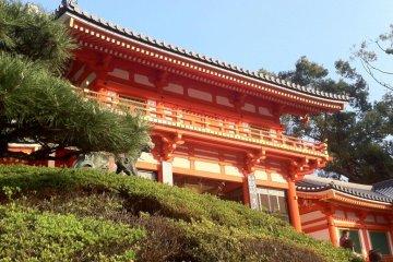 <p>Yasaka Jinga Shrine</p>