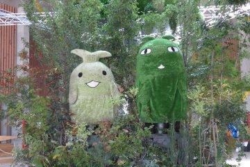 <p>Meet the mascots of Moricoro Park.&nbsp;</p>