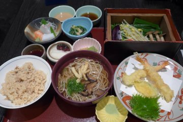 <p>Everything in the Aoi set was fresh and tasty.&nbsp;</p>