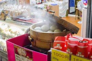 بعض الحلويات الصينية