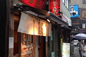 The streets are filled with small stalls selling good and affordable Japanese food.